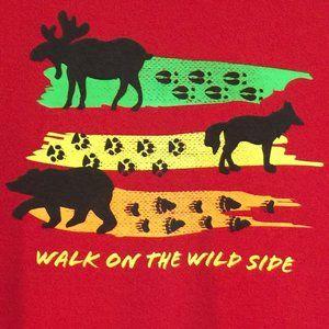 Walk on Wild Side Youth Tee, 100% cotton, NWT